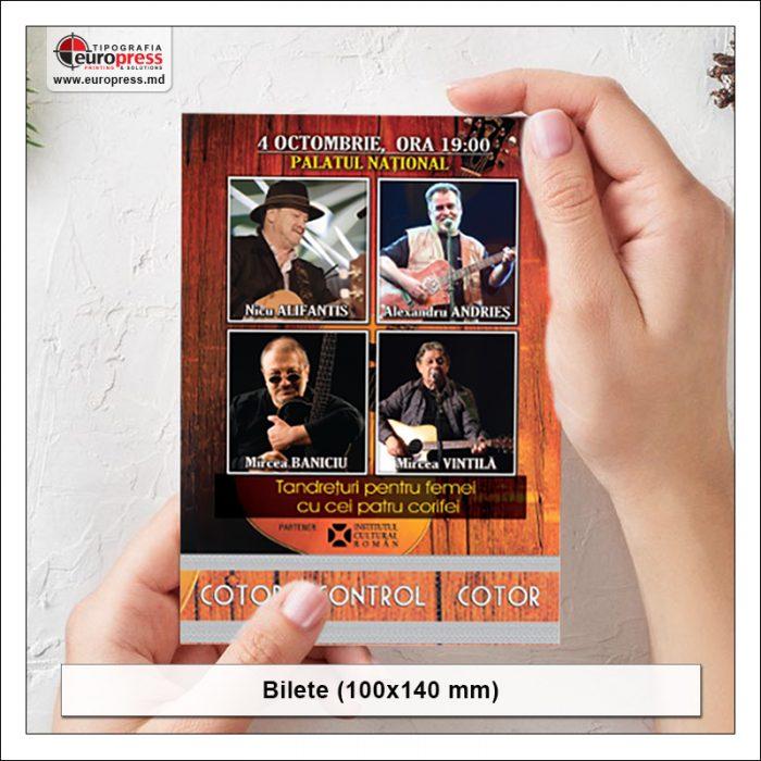 Bilete 100x140 - Varietate Bilete - Tipografia Europress