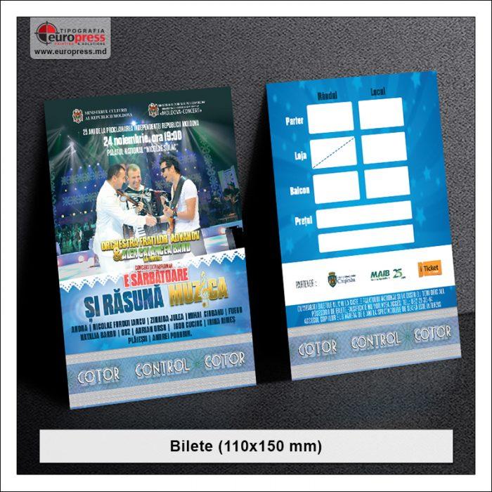 Bilete 110x150 - Varietate Bilete - Tipografia Europress