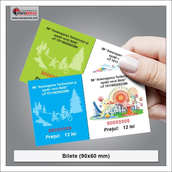Bilete 90x60 - Varietate Bilete - Tipografia Europress