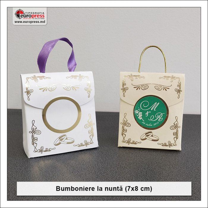 Bumboniere pentru Nunta - Varietate Invitatii si articole pentru Nunta - Tipografia Europress
