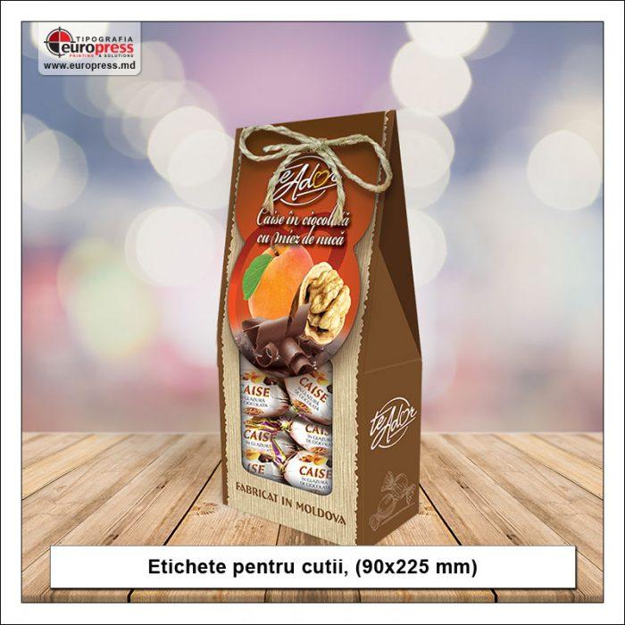 Etichete pentru cutii - Varietate etichete pentru produse - Tipografia Europress