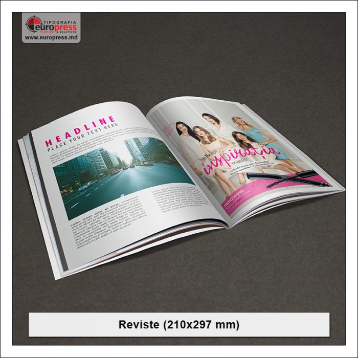 Revista model 4 - Varietate Reviste - Tipografia Europress