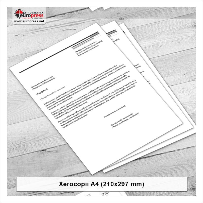 Xerocopii A4 - Varietate Xerocopii - Tipografia Europress