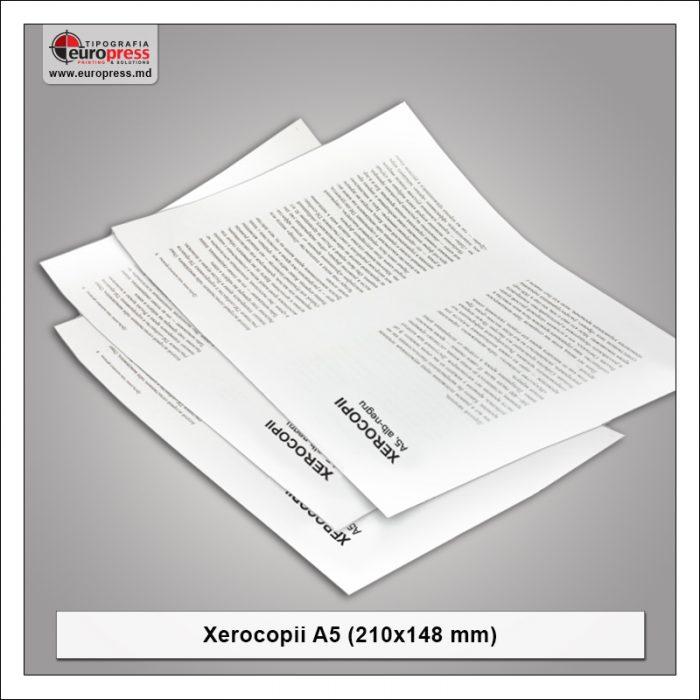 Xerocopii A5 - Varietate Xerocopii - Tipografia Europress