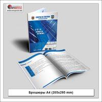 Брошюра А4 205x295 mm - разнообразие Брошюр - типография Europress