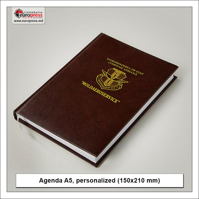 Agenda A5 personalized - Variety of Agendas - EuroPress Printing House