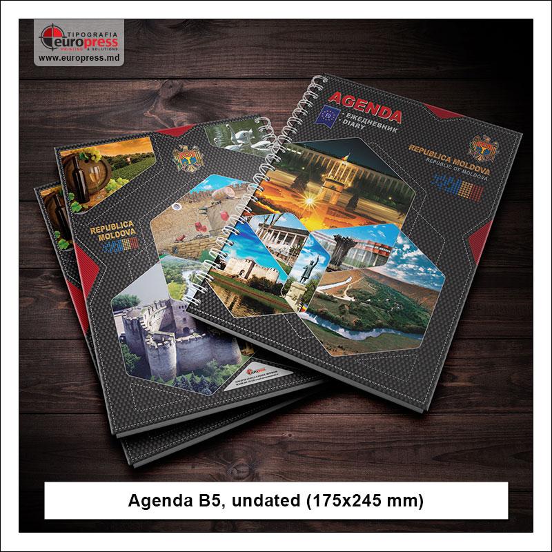 Agenda B5 undated - Variety of Agendas - EuroPress Printing House