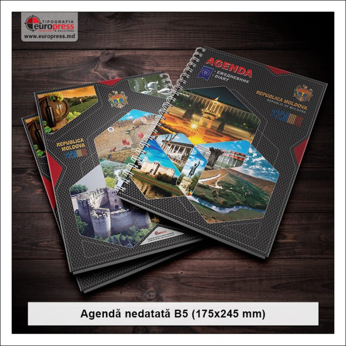 Agenda nedatata - Varietate Agende - Tipografia Europress