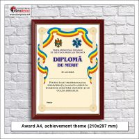 Award A4 achievement theme - Variety of Awards - EuroPress Printing House