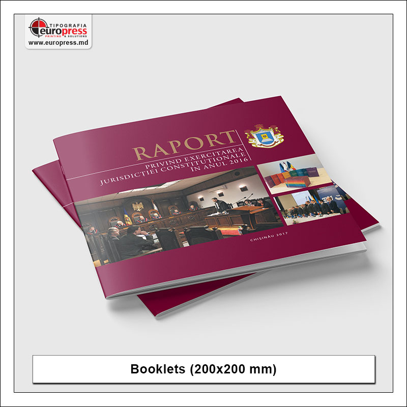 Booklet 200x200 mm - Variety of Booklets - EuroPress Printing House