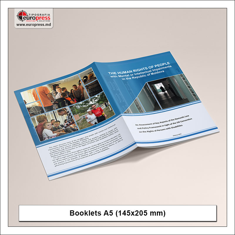 Booklet A5 - Variety of Booklets - EuroPress Printing House