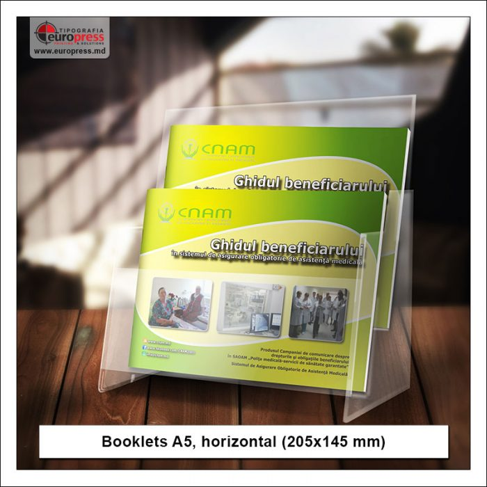 Booklet A5 horizontal - Variety of Booklets - EuroPress Printing House