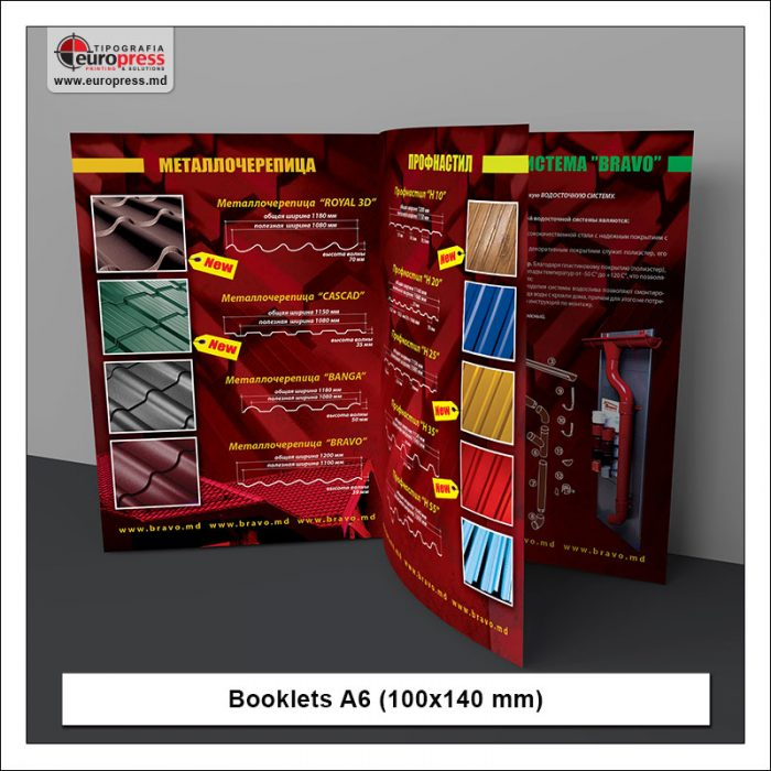 Booklet A6 - Variety of Booklets - EuroPress Printing House