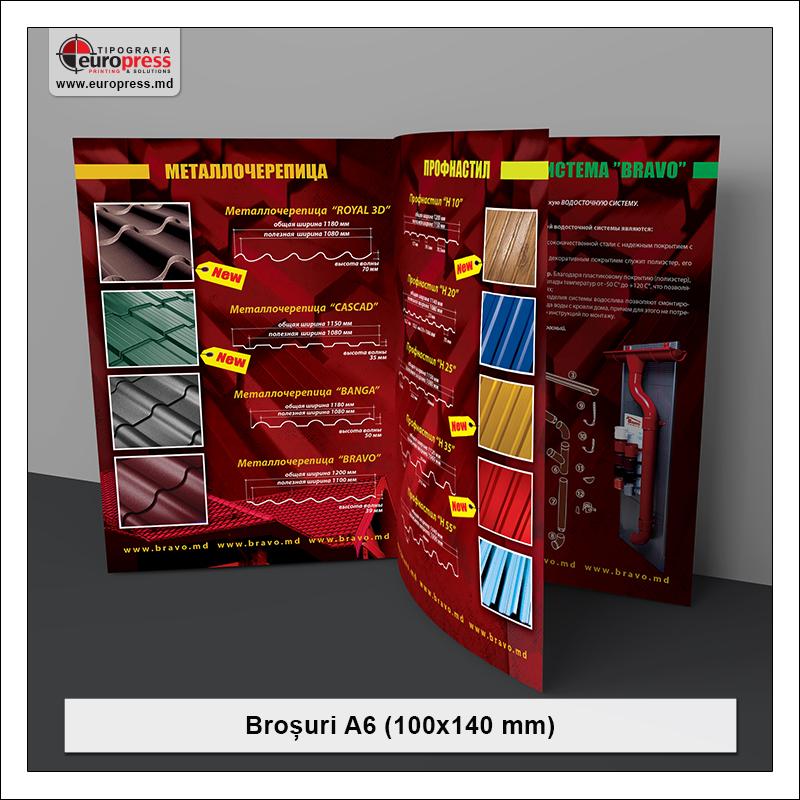 Brosura A6 - Varietate Brosuri - Tipografia Europress