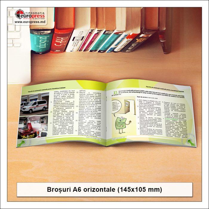 Brosura A6 orizontale - Varietate Brosuri - Tipografia Europress