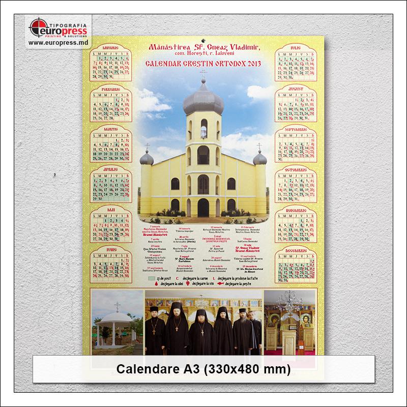 Calendar A3 - Varietate Calendare - Tipografia Europress