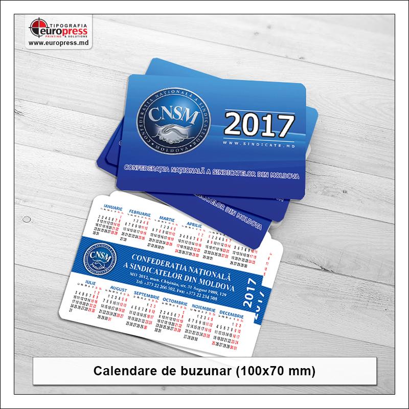 Calendar buzunar - Varietate Calendare - Tipografia Europress