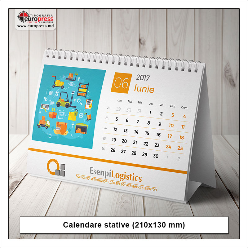 Calendare stative Stil 2 - Varietate Calendare - Tipografia Europress