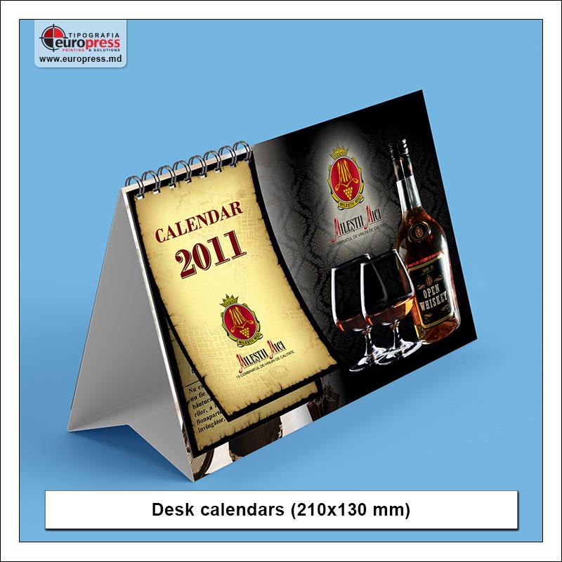 Desk calendars Style 3 - Variety of calendars - Europress Printing House
