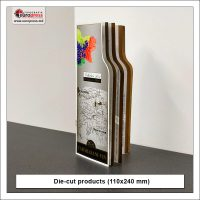 Die cut products 110x240 mm - Variety of die cut products - Europress Printing House