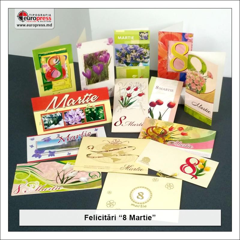 Felicitare 8 Martie - Varietate Felicitari - Tipografia Europress