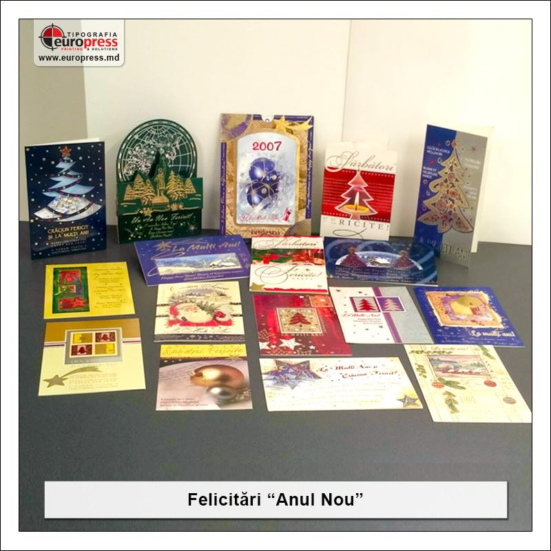 Felicitare Anul Nou - Varietate Felicitari - Tipografia Europress