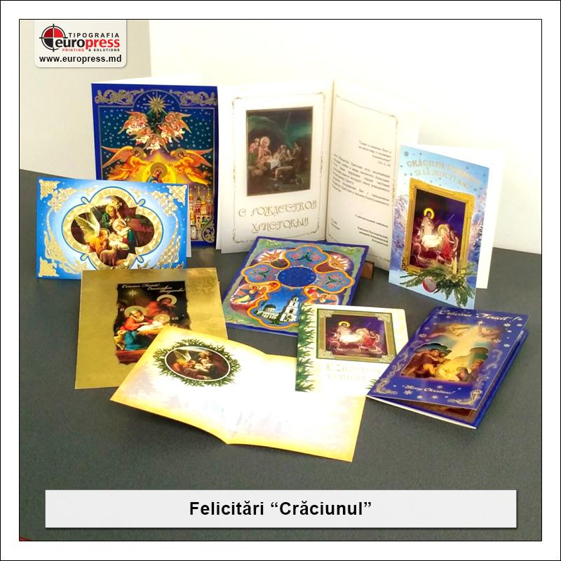 Felicitare de Craciun - Varietate Felicitari - Tipografia Europress
