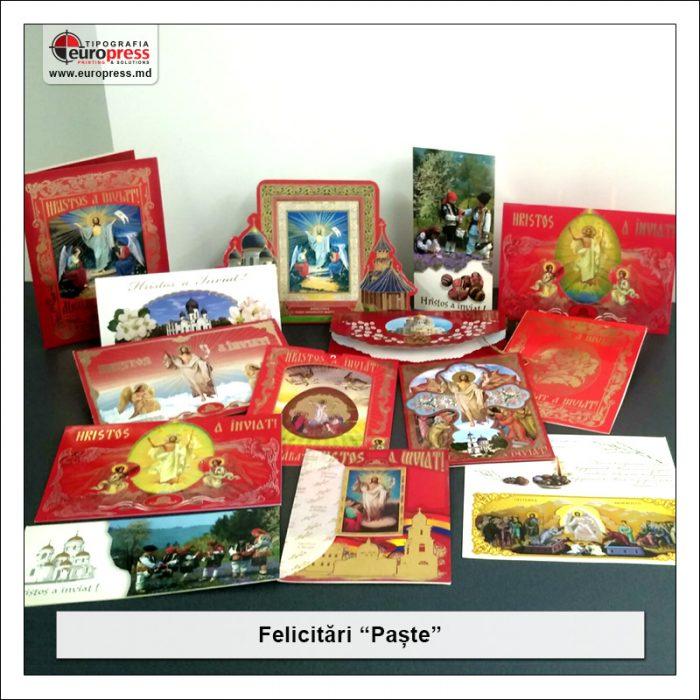 Felicitare de Paste - Varietate Felicitari - Tipografia Europress