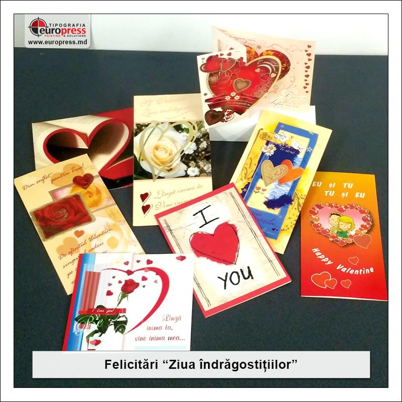 Felicitari de Ziua Indragostitilor - Varietate Felicitari - Tipografia Europress
