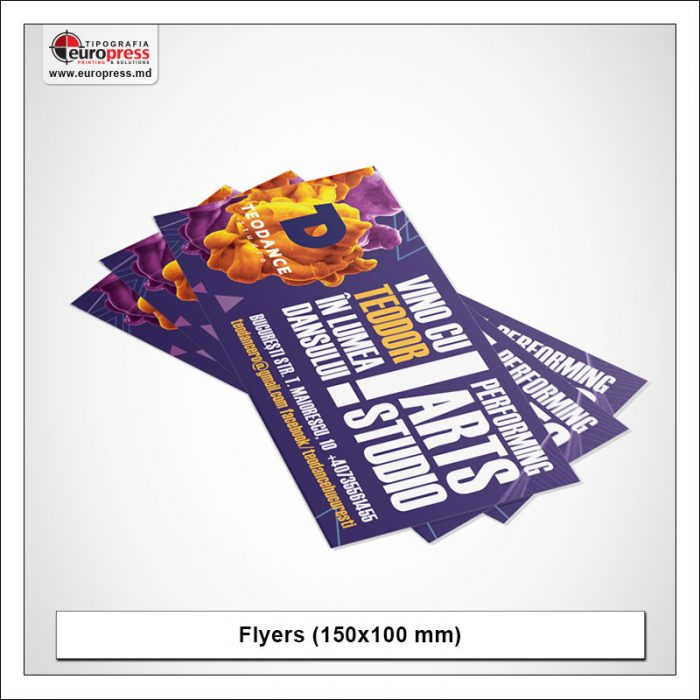 Flyer 150x100 mm - Variety of Flyers - EuroPress Printing House