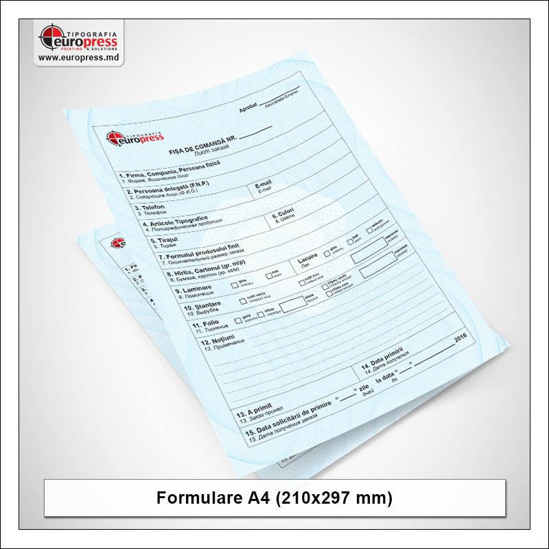 Formular A4 - Varietate Formulare - Tipografia Europress