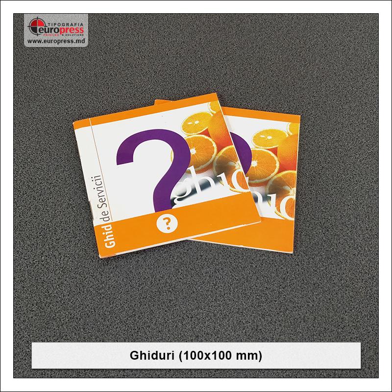 Ghid 100x100 mm - Varietate Ghiduri - Tipografia Europress