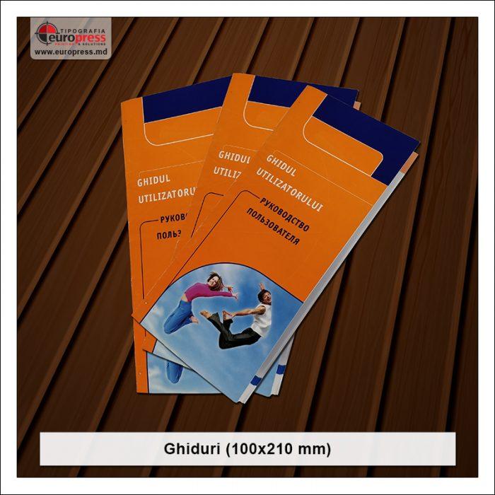 Ghid 100x210 mm - Varietate Ghiduri - Tipografia Europress