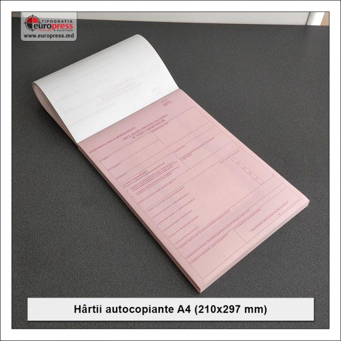 Hartii Autocopiante A4 - Varietate Hartii autocopiante - Tipografia Europress