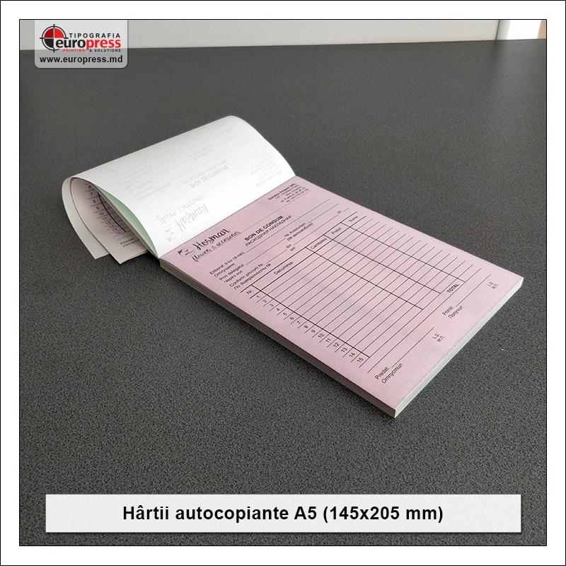 Hartii Autocopiante A5 - Varietate Hartii autocopiante - Tipografia Europress