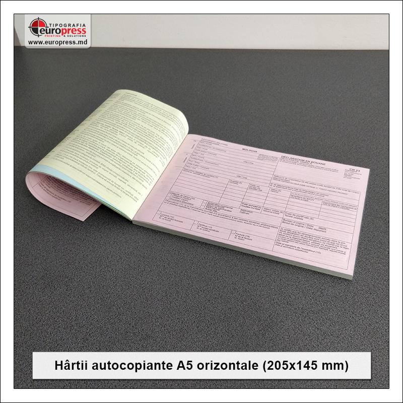 Hartii Autocopiante A5 orizontale Stil 1 - Varietate Hartii autocopiante - Tipografia Europress