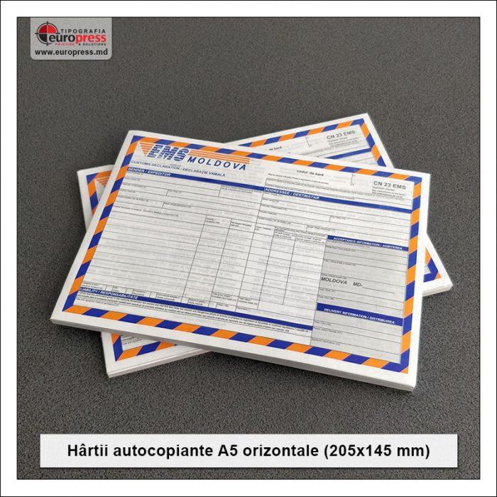 Hartii Autocopiante A5 orizontale Stil 2 - Varietate Hartii autocopiante - Tipografia Europress