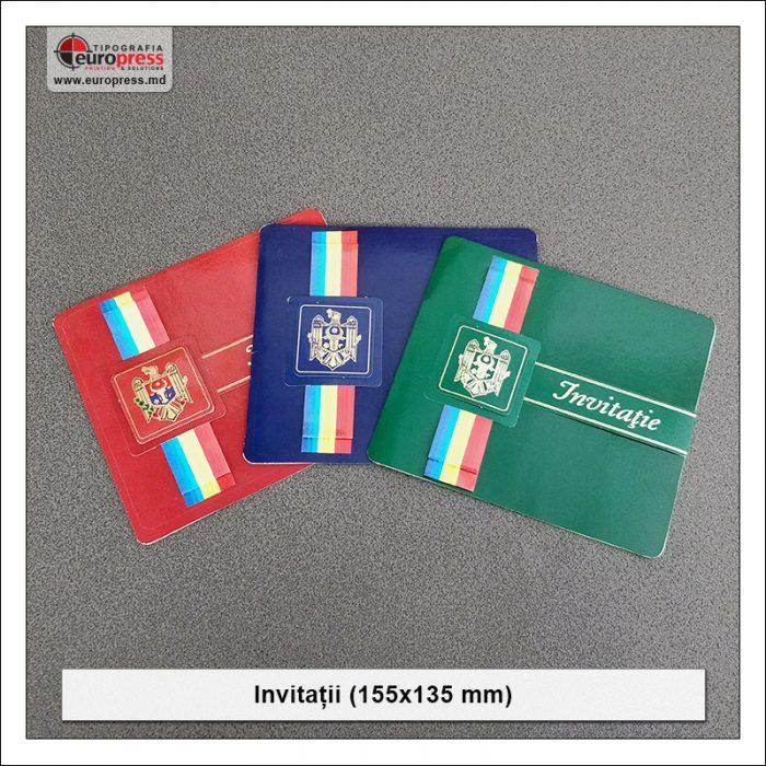Invitatie 155x135 mm - Varietate Invitatii - Tipografia Europress