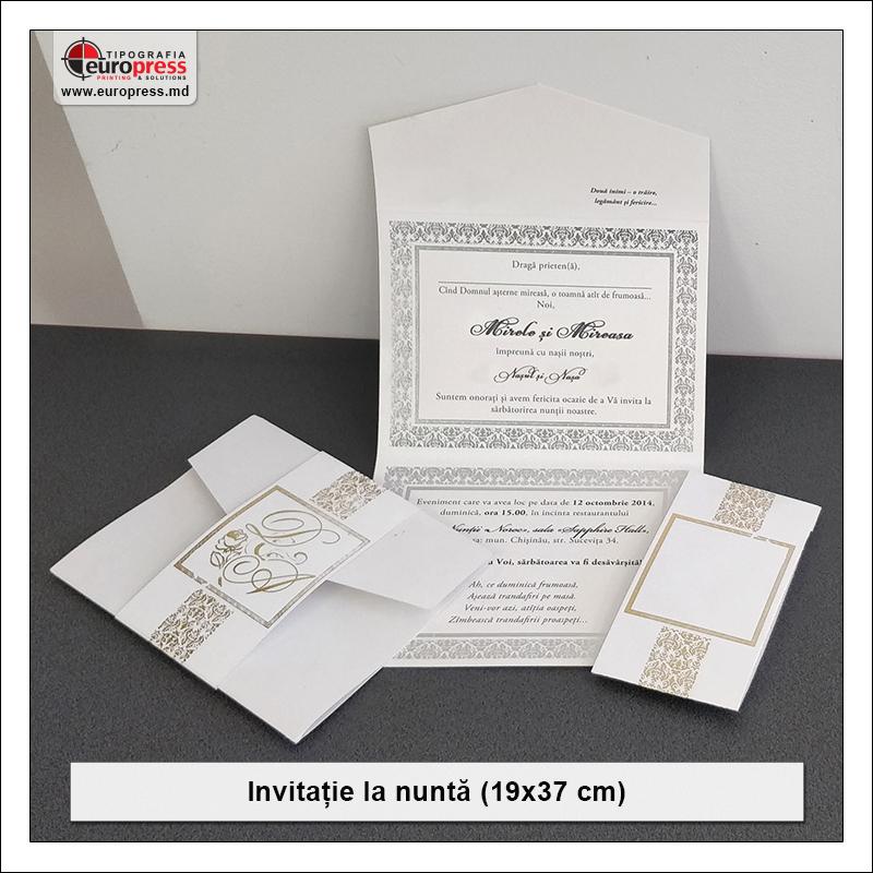 Invitatie pentru Nunta Stil 3 - Varietate Invitatii si articole pentru Nunta - Tipografia Europress