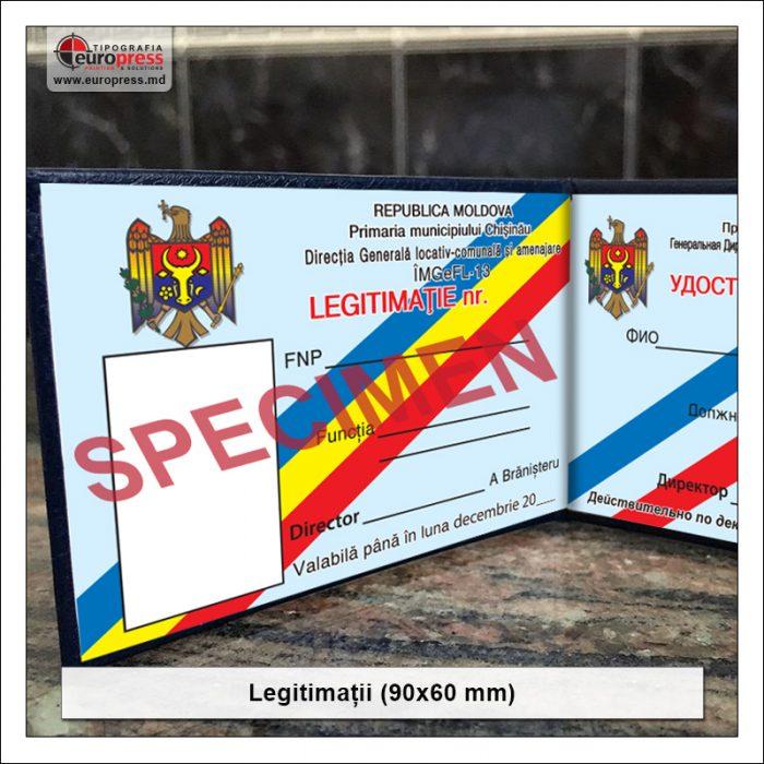Legitimatie 90x60 Stil 2 - Varietate Legitimatii - Tipografia Europress