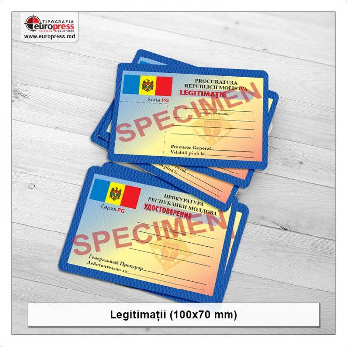 Legitimatii 100x70 mm Stil 2- Varietate Legitimatii - Tipografia Europress