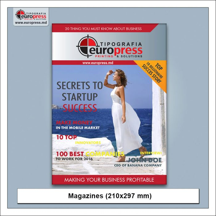 Magazine model 1 - Variety of Magazines - Europres Printing House