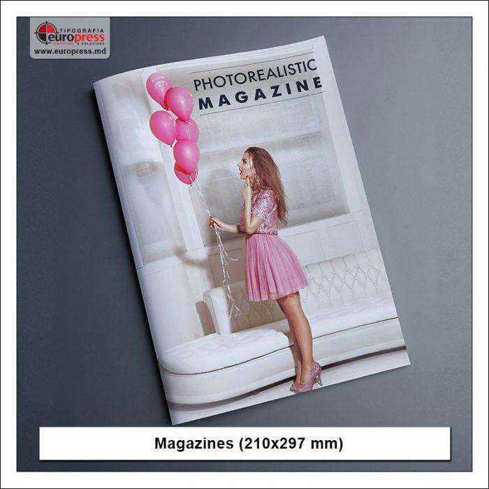 Magazine model 2 - Variety of Magazines - Europres Printing House