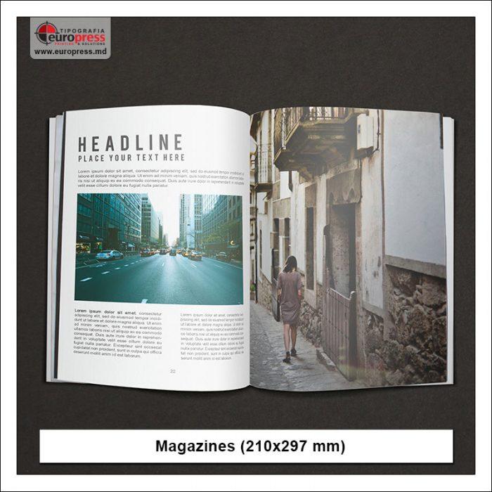 Magazine model 3 - Variety of Magazines - Europres Printing House