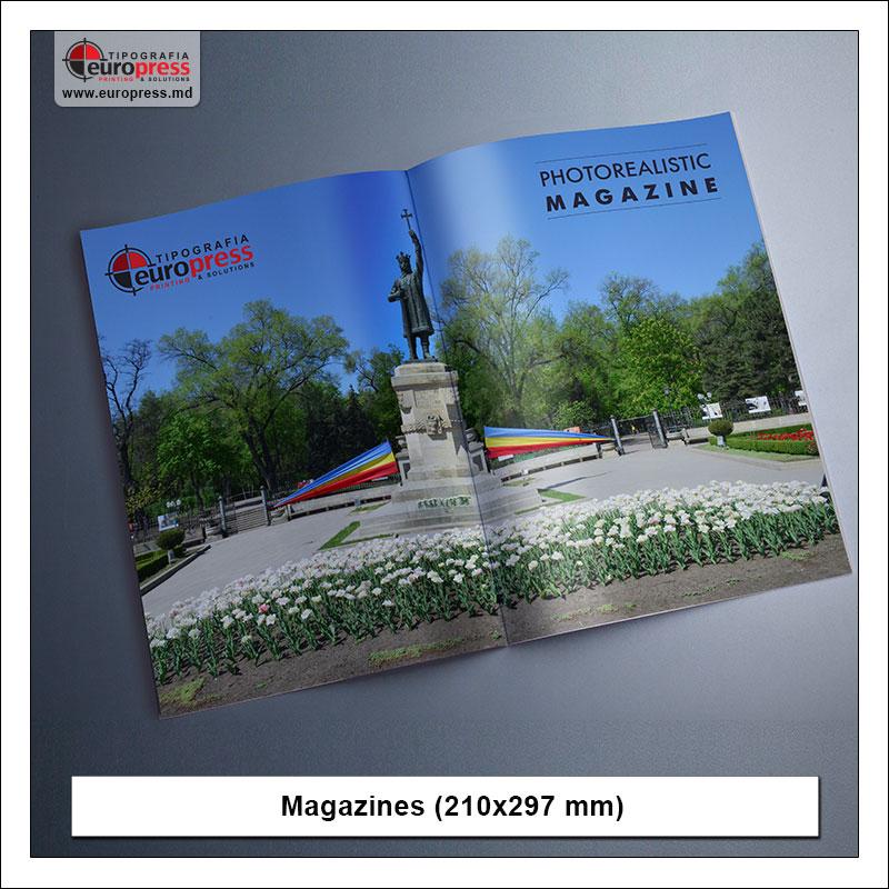 Magazine model 5 - Variety of Magazines - Europres Printing House