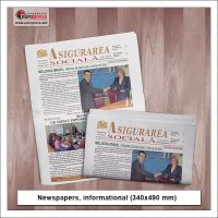 Newspaper informational style 2 - Variety of Newspapers - EuroPress Printing House