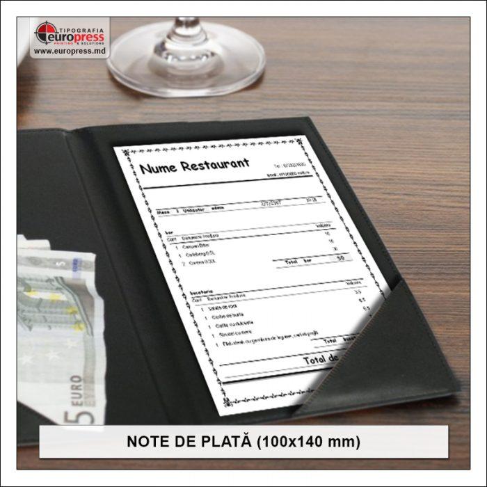 Nota de plata 100x140 mm Stil 2 - Varietate Note de Plata - Tipografia Europress