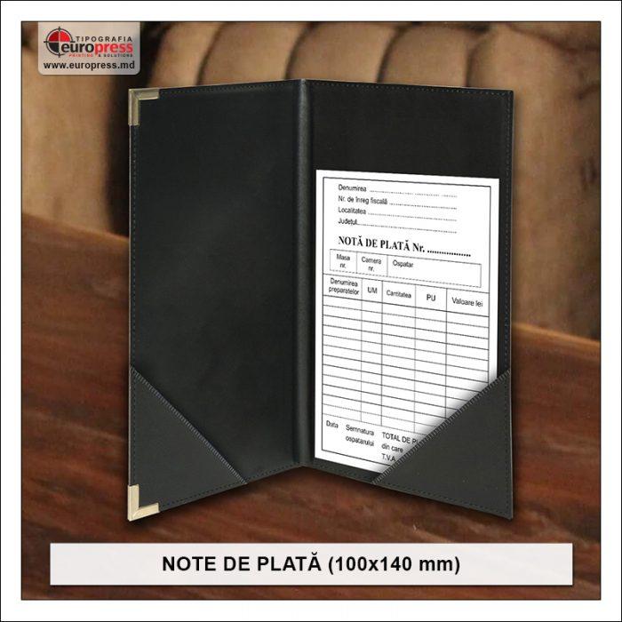 Nota de plata 100x140 mm Stil 3 - Varietate Note de Plata - Tipografia Europress