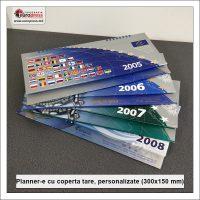 Plannere 300x150 mm cu coperta tare personalizate - Varietate Organizere si Plannere - Tipografia Europress