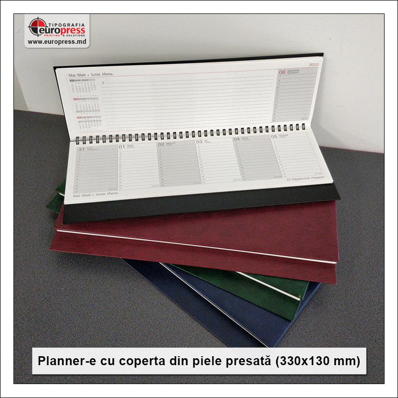 Plannere cu coperta piele presata 330x130 mm - Varietate Organizere si Plannere - Tipografia Europress